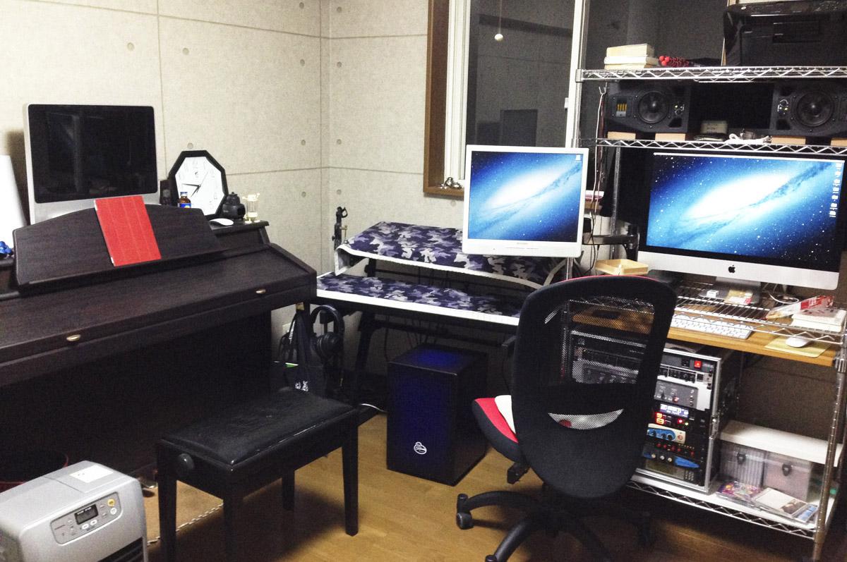 ZomoのStudio Desk MilanoでDTMルームを改造