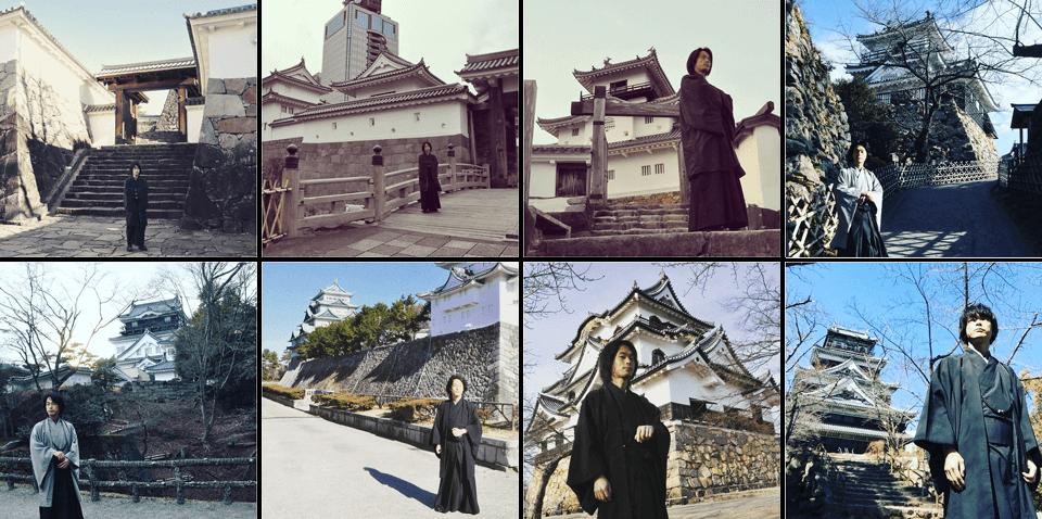 今年攻略した八城。国宝彦根城は格が違う。