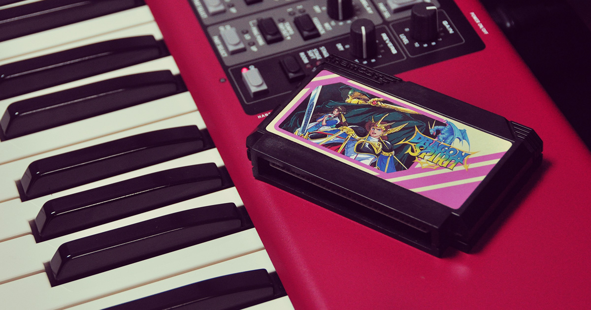 ドラゴンスピリット サウンドアレンジ[ファミリーコンピュータ-ナムコ-1987]