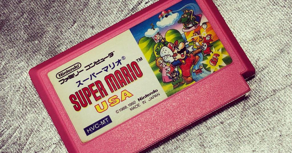 スーパーマリオUSA[ファミリーコンピュータ-任天堂-1992]