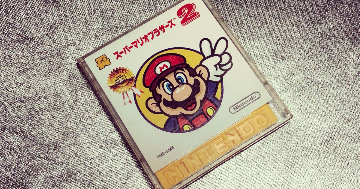 スーパーマリオブラザーズ2[ファミリーコンピュータ-任天堂-1986]