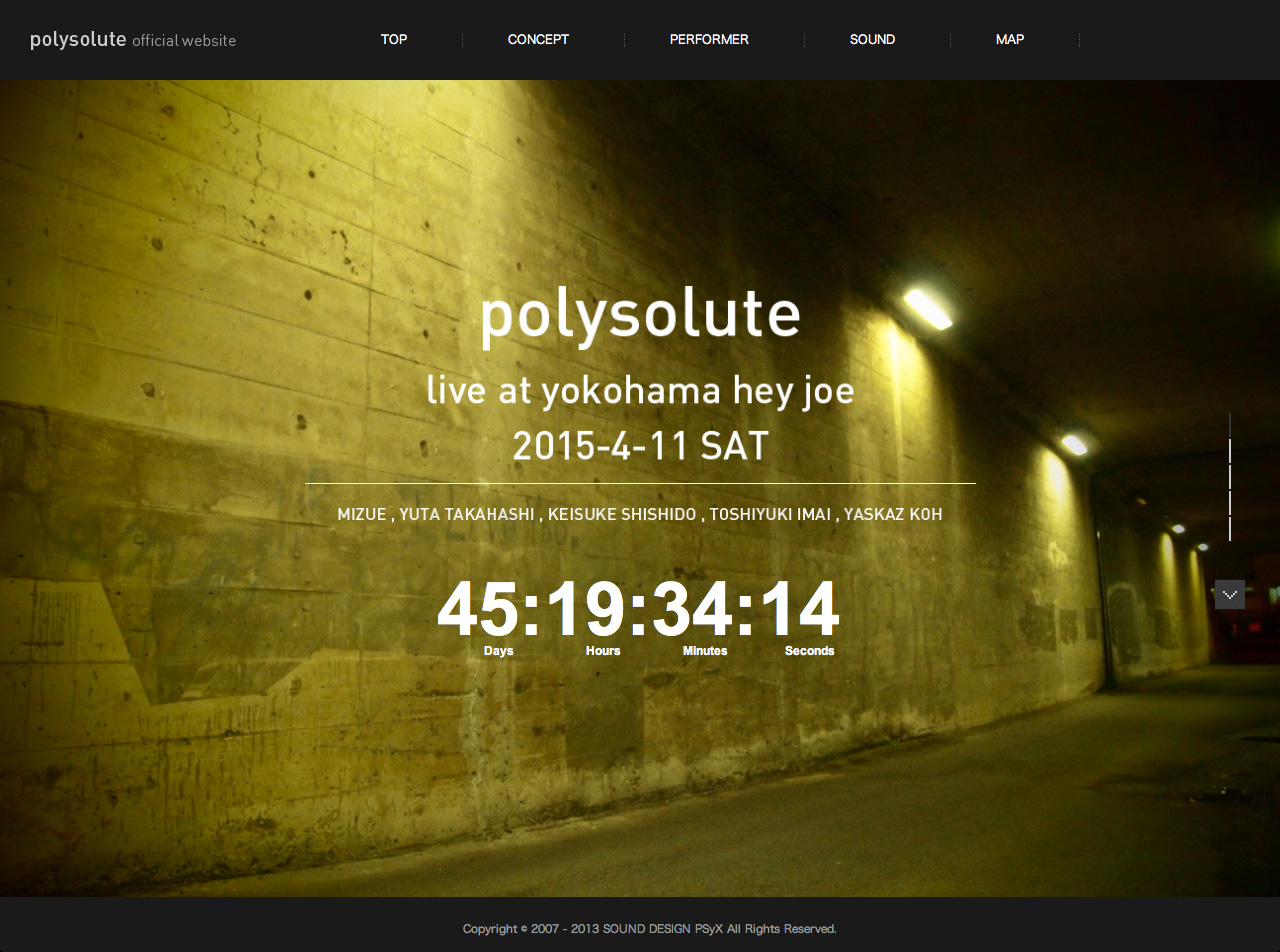 polysolute オフィシャルウェブサイト